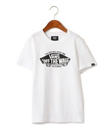 green label relaxing (Kids)/【ジュニア】 VANS ロゴTEE/501012095
