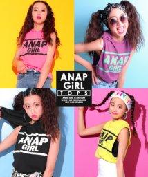 ANAP GiRL/ラインロゴフーディタンクトップ/501025315