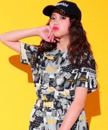ANAP GiRL/総柄フォトTシャツ/501025319