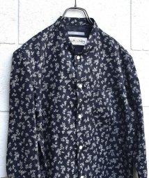 SHIPS MEN/SU: フラワー フレンチリネンスタンドカラーシャツ/501028042