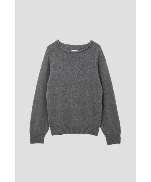 MARGARET HOWELL(マーガレット・ハウエル)/LONG SLEEVE CAST OFF ROLL NECK/5788263002