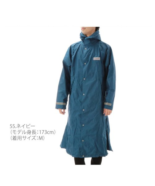 BACKYARD(バックヤード)/カジメイク kajimeiku #7260 エントラントレインコート/kaji7260