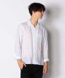 TOMORROWLAND MENS/リネン オープンカラーシャツ/501039608