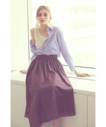 PROPORTION BODY DRESSING/《BLANCHIC》シアーボイルマキシスカート/501039750