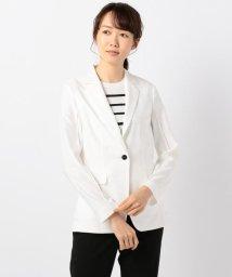 ICB(LARGE SIZE)/【洗える】Mixed Cotton Stretch テーラードジャケット/501042340