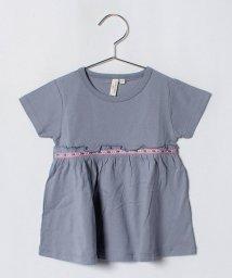 LAGOM/ギャザー切替Tシャツ/501025791
