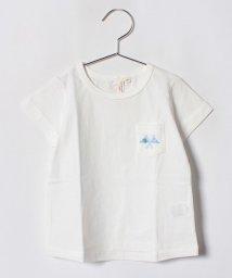 LAGOM/フラッグプリントポケットTシャツ(子供)/501025792