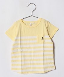 LAGOM/パネルボーダーTシャツ(子供)/501025793