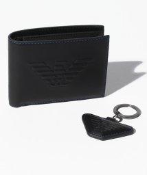 EMPORIO ARMANI/EMPORIO ARMANI Y4R174 YG90J 81072 二つ折り財布・キーリングセット/501032490