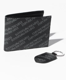 EMPORIO ARMANI/EMPORIO ARMANI Y4R174 YLO7E 86526 二つ折り財布・キーリングセット/501032491