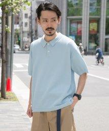 URBAN RESEARCH/【UR】カノコニットルーズポロシャツ/501032549
