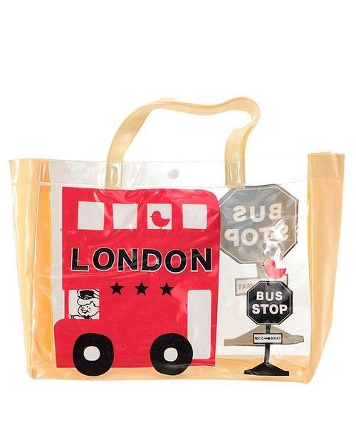 ニコフラート nico hrat ロンドンバス ビーチバッグ