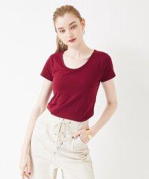 titivate/カップ付きクルーネックTシャツ/501042869