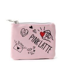 PINK-latte/ハンドサインティッシュポーチ/501046481