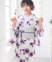 Dita/Dita【ディータ】1人で簡単に着られる作り帯の可愛い女性浴衣 4点フルセット(ゆかた・作り帯・下駄・着付けカタログ)/501047581