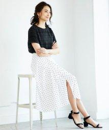 JIYU-KU /【洗える】DRAPE DOT スカート/501050874