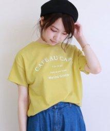 framesRayCassin/裾ゴムロゴTシャツ/501050995