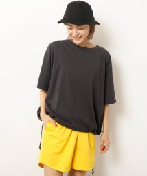 DOUBLE NAME/GLS 裾ドロスト加工TEE(D)/501051096