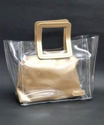 ninon/【ポーチ付き】 PVCクリアハンドバッグ/501051168