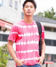 VICCI/VICCI【ビッチ】タイダイ染めクルーネック半袖Tシャツ/501051313