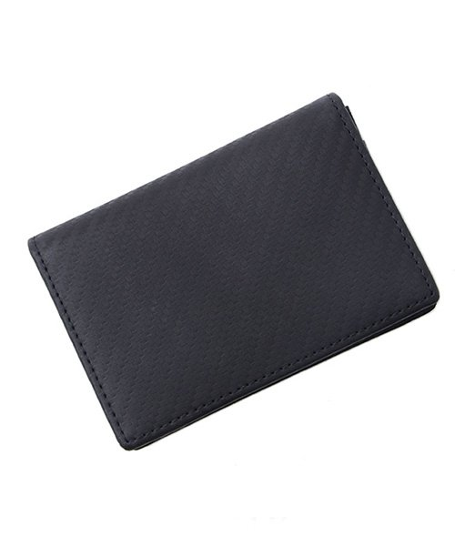 シルバーバレット SB select本革カーボンレザー名刺入れ メンズ ブラック FREE(フリーサイズ) 【SILVER BULLET】
