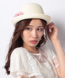 axes femme/お花×リボン通しボーラー帽/501035377