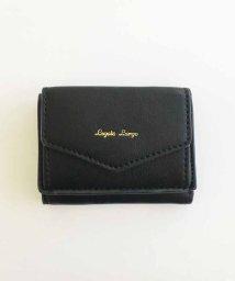 haco!/Legato Largo シュリンクフェイクレザー三つ折りミニ財布/501046551