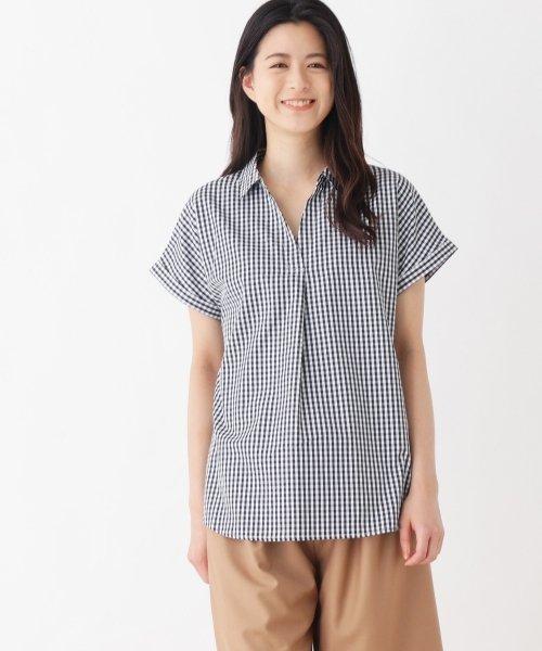 ゆるスキッパー半袖シャツ