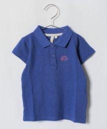 LAGOM/ハリネズミ刺繍ポロシャツ/500992938
