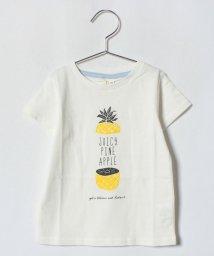 LAGOM/パイナップルプリントTシャツ/500992939
