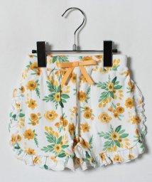 LAGOM/花柄フリルパンツ/500992943