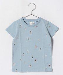LAGOM/[吸水速乾]スイマープリントTシャツ/501004752