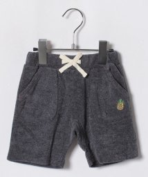 LAGOM/パイナップル刺繍パイルショートパンツ/501004754