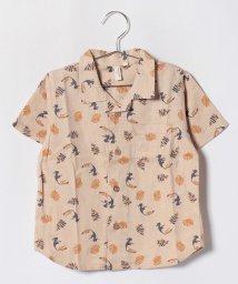 LAGOM/【セットアップ対応商品】リゾート柄半袖シャツ/501004757