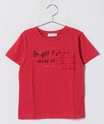 koe kids/ポケットフリル半袖Tシャツ/501052016