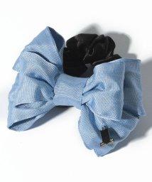 LANVIN en Bleu/ワイヤーリボンシュシュ/LB0005202