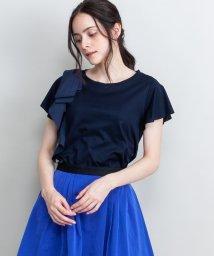 LANVIN en Bleu/ショルダーリボンカットソー/LB0005217