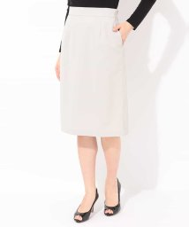 MICHEL KLEIN/【洗える】【セットアップ対応】トリコットセミタイトスカート/500923446