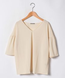 Theory Luxe/Vネックジャージブラウス GEORGETTE.JERSEY/HOSE/501036389