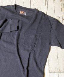 grn/ヘビーウェイト長袖ポケットTシャツ/501053733