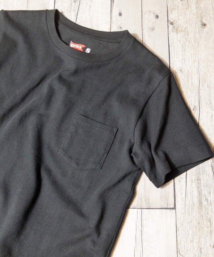 grn:ヘビーウェイト半袖ポケットTシャツ 画像