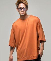 VICCI/VICCI【ビッチ】ビッグシルエットクルーネック5分袖Tシャツ/501054942