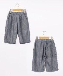 SHIPS KIDS/SHIPS KIDS:麻×クールマックス シャンブレー ハーフパンツ(145~160cm)/501055429