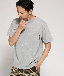 BASECONTROL/Tシャツ メンズ クルーネック ポケット 半袖Tシャツ/501055696