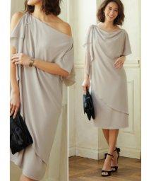 STYLE DELI/【STYLE DELI dress】ショルダーリボン2WAYワンピース/501056806