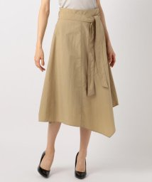 iCB/【イレギュラーヘムが美しい】Taslan Taffeta スカート/501057142