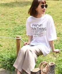 coca/ビッグシルエットカジュアルロゴプリントTシャツ/501059274