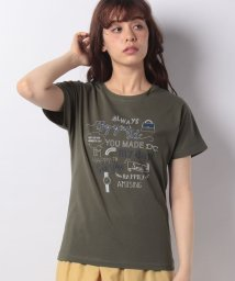 Afternoon Tea LIVING/ロゴモチーフTシャツ/501036378