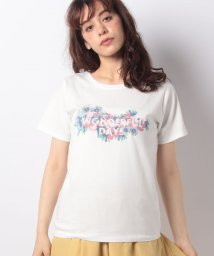Afternoon Tea LIVING/フラワーロゴTシャツ/501036379