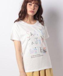 Afternoon Tea LIVING/ケーキロゴTシャツ/501036380